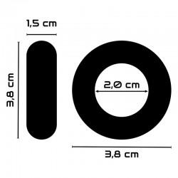 baile harness doble dildo 142cm 20cm